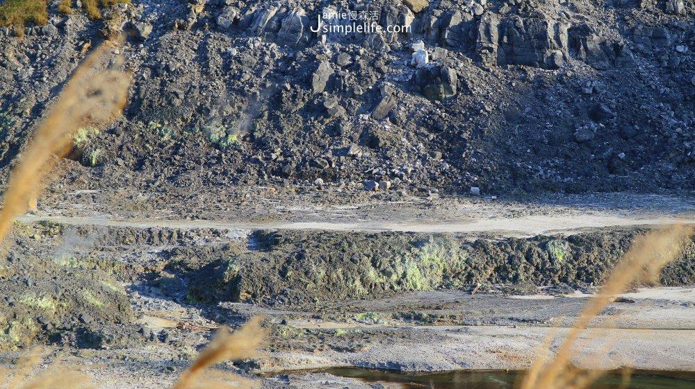 台北 北投慢旅 × 硫磺谷遊憩區,近觀火山地形地熱風貌「大磺嘴」 @JAMIE慢森活