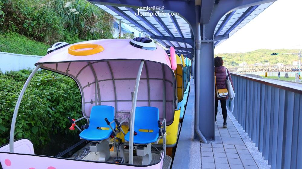新北|瑞芳慢旅 × Rail Bike深澳鐵道自行車,萌系首推!絕美海景唯一山海鐵道自行車 @JAMIE慢森活