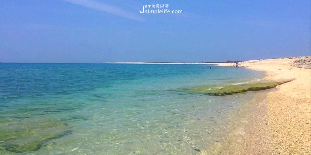 澎湖吉貝|吉貝島,落跑吧愛情!初夏遇見夢幻沙灘與清甜微風